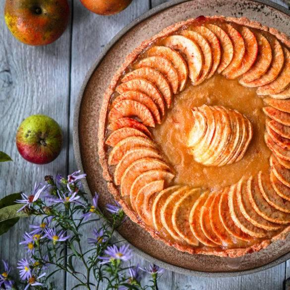 Caption of Apple Tart. Image by Edward Daniel (c).