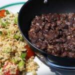Frijoles Molidos, otherwise Refried black beans