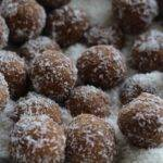 Raw Coconut Almond Energy Snowballs