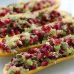 Recipe: Raw Pomegranate Dill Stuffed Zucchini – #Raw #Vegan #Vegetarian #Paleo #Paleovegan