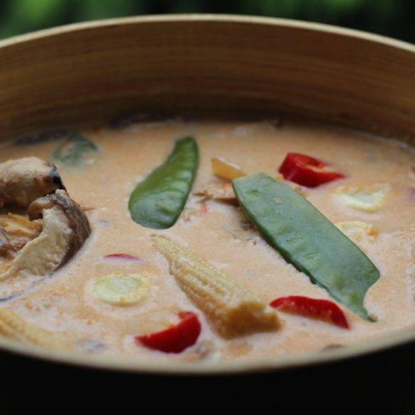 Caption of Thai Red Curry. Image by Edward Daniel (c).