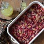 Recipe: Cranberry, Orange and Lemoncello Clafoutis – #Vegan #Vegetarian