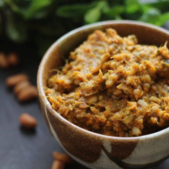 Caption of Toasted Peanut Roasted Sweet Potato Dip. Image by Edward Daniel (c).