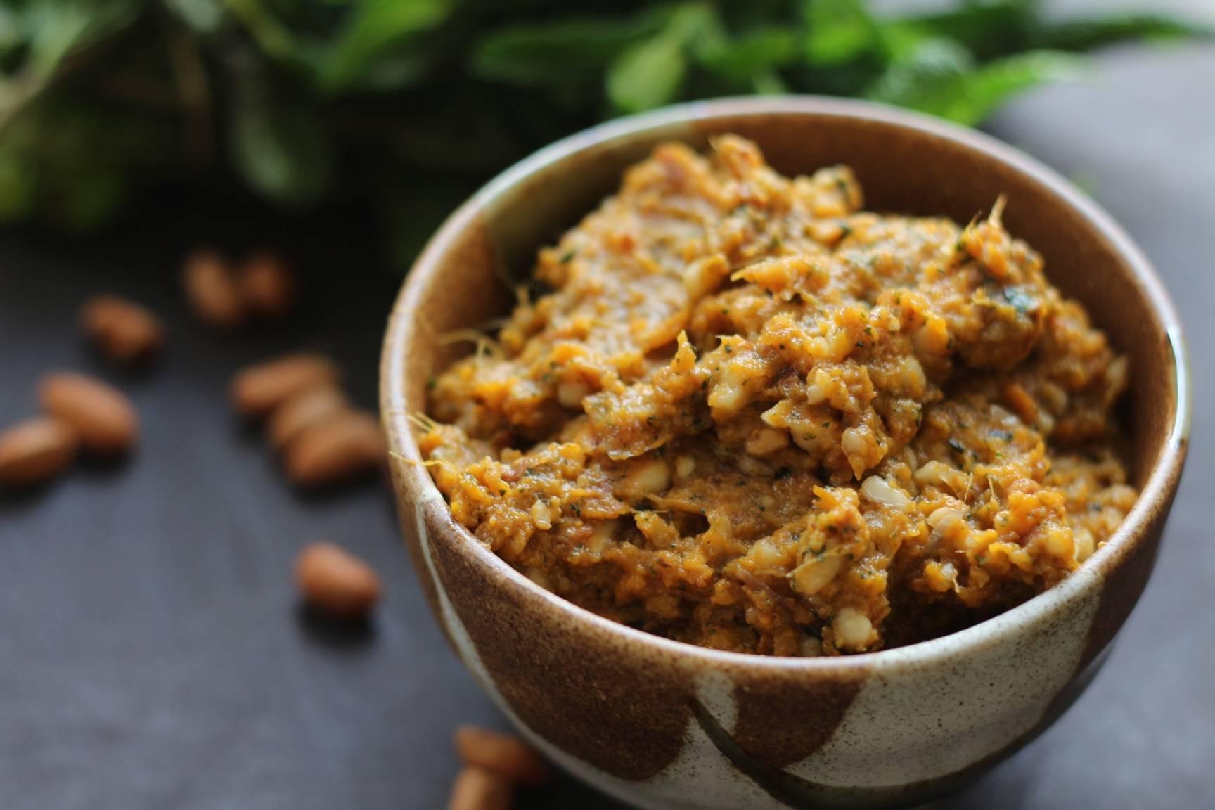 Recipe: Toasted Peanut Roasted Sweet Potato Dip –  #Vegan #Vegetarian