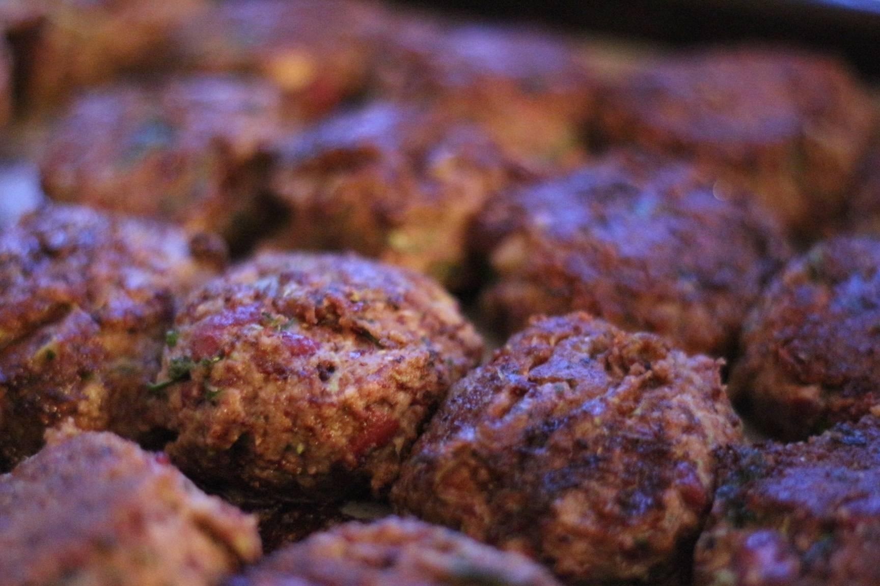 Coriander Marrow Mushroom Bean Burgers