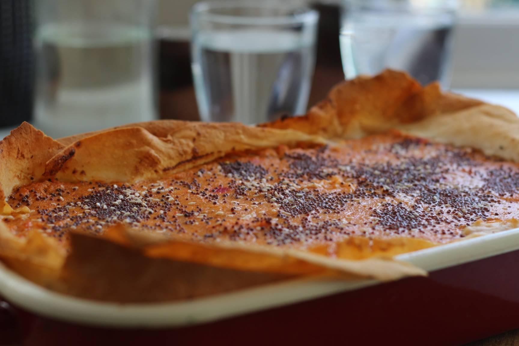 Coriander Poppy seed Chestnut Calovo Nero Pie