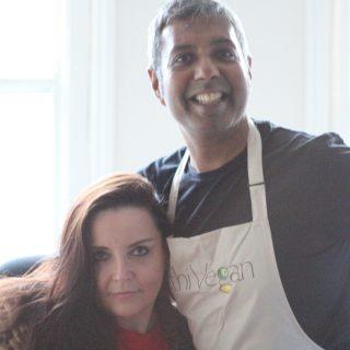 Interview: Edward Daniel, Vegan Chef meets interview Elizabeth Jones, Brexiteer