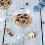 Blueberry Cinnamon Buckwheat Pudding