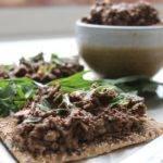Raw Seaweed Mushroom Pate