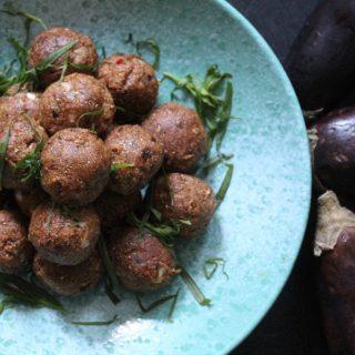 Recipe: Polpette di Melanzane (Sicilian Aubergine Balls) – #Vegan #Vegetarian