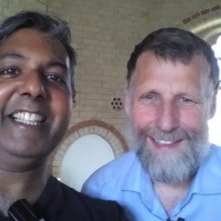 "Interview: Edward Daniel, Vegan Chef meets Alastair McIntosh author of ""Spiritual Activism"""