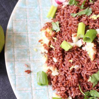 Recipe: Red Camargue Rice Salad – #Vegan #Love #Live #Health