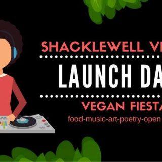 Interview: Edward Daniel, Vegan Chef meets Egg Guney, Shacklewell Village Vegan Fiesta