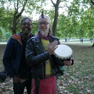 Interview: Edward Daniel, Vegan Chef meets Shokti, Autumn Equinox 2017