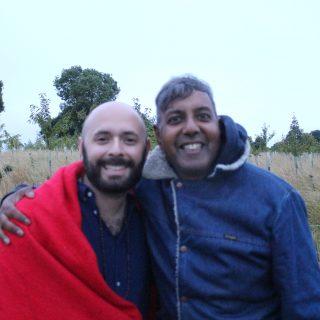 Interview: Edward Daniel, Vegan Chef meets Justin Luria, Shamanic Practitioner and Energy Healer
