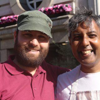 Interview: Edward Daniel, Vegan Chef meets Eyal Bergman, Vegan Veterinarian speaks about Challenge 22+