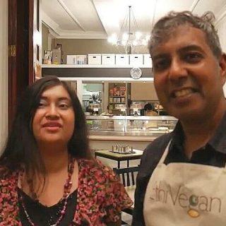 Interview: Edward Daniel, Vegan Chef meets Shabari Monica Das, London Vegan Business Network