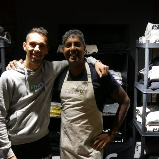 Interview: Edward Daniel, Vegan Chef meets Vegan Geezer, Bob