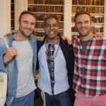 Interview: Edward Daniel, Vegan Chef meets The Happy Pear, Stephen and David Flynn (Vegan)