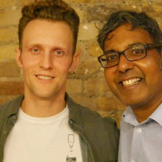 Interview: Edward Daniel, Vegan Chef meets The Mylkman, Jamie Chapman