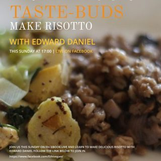 LiveStream: Edward Daniel makes Mushroom Risotto – The Beginner's Guide Series – Episode 6