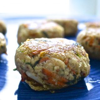 Recipe: Carrot Cannellini Bean Burgers – #vegan