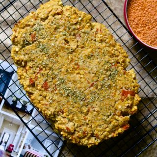 Recipe: Lentil Bake – #vegan