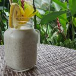 Durian Chia Seed Pudding
