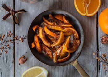 Caption of Orange and Lemon Candied Peel. Image by Edward Daniel (c).
