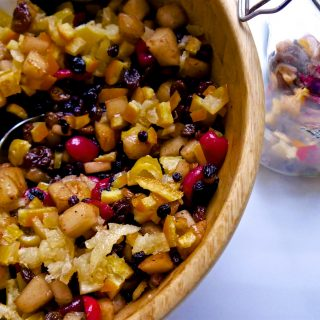 Recipe – Cherry and Pear Mincemeat – #vegan #wholefoods