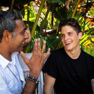 Interview: Edward Daniel meets Max La Manna – #vegan