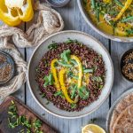 Spicy Sumac Mustard Jackfruit Curry