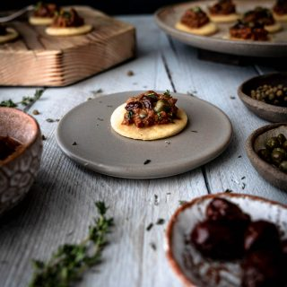 Caption of Tapenade being served. Image by Edward Daniel (c)