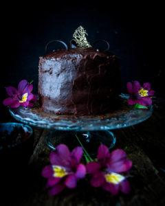 Caption of Chocolate Cake. Image by Edward Daniel (c).