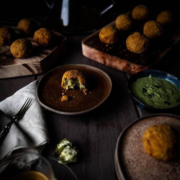 Caption of Potato Croquettes. Image by Edward Daniel (c)
