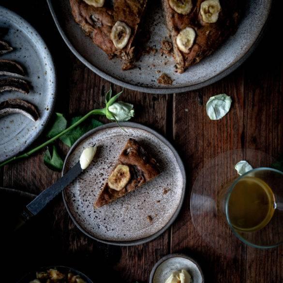 Caption of Vegan Banana Bread. Image by Edward Daniel (c).