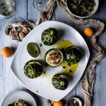 Stuffed Courgettes with Apricots and Chia Seed