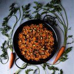 Carrot and Pistachio Halva