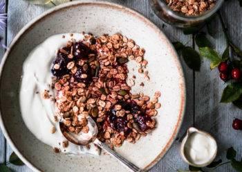 Caption of Barley Flake Granola. Image by Edward Daniel (c).