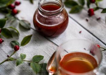 Caption of Rosehip Syrup. Image by Edward Daniel (c).