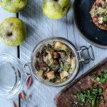 Apple Onion and Mint Chutney