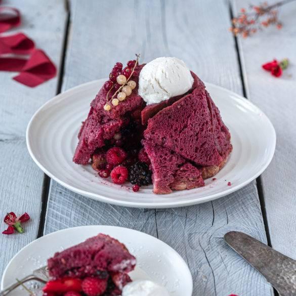 Caption of Summer Pudding. Image by Edward Daniel (c).
