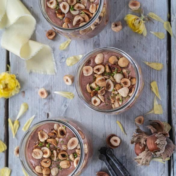 Caption of Chocolate Hazelnut Parfait. Image by Edward Daniel (c).